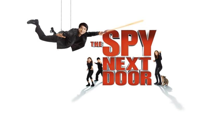 The Spy Next Door banner backdrop