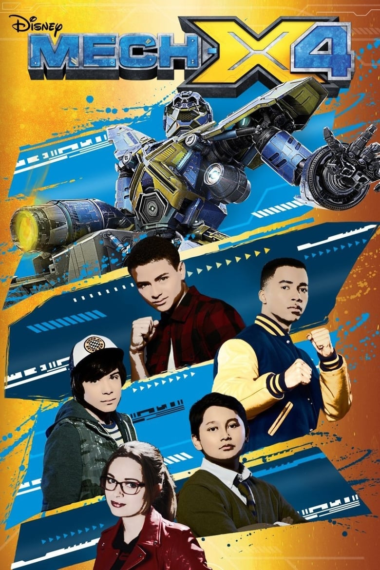 Mech X4 Saison 2 Streaming