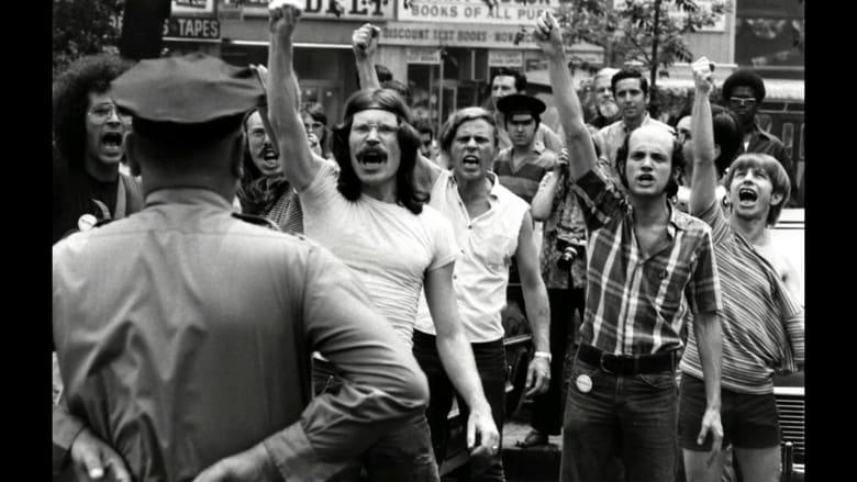 Stonewall Uprising banner backdrop
