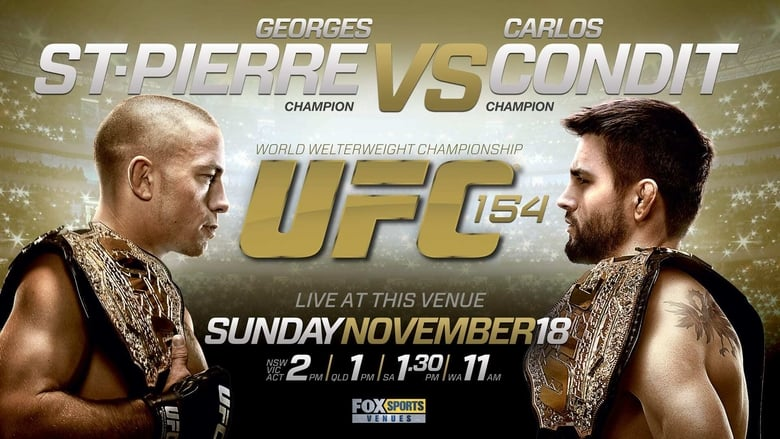 Watch UFC 154: St-Pierre vs. Condit free