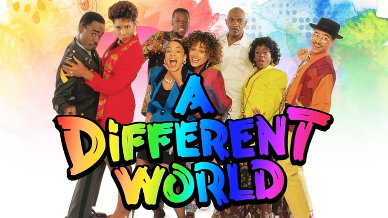 A Different World banner backdrop