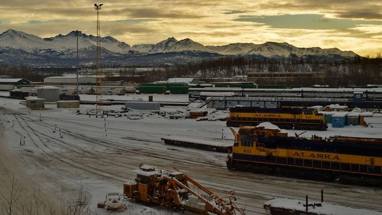 Railroad Alaska banner backdrop