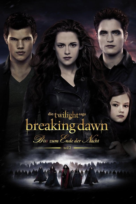 Breaking Dawn - Bis(s) zum Ende der Nacht - Teil 2 - Abenteuer / 2012 / ab 12 Jahre