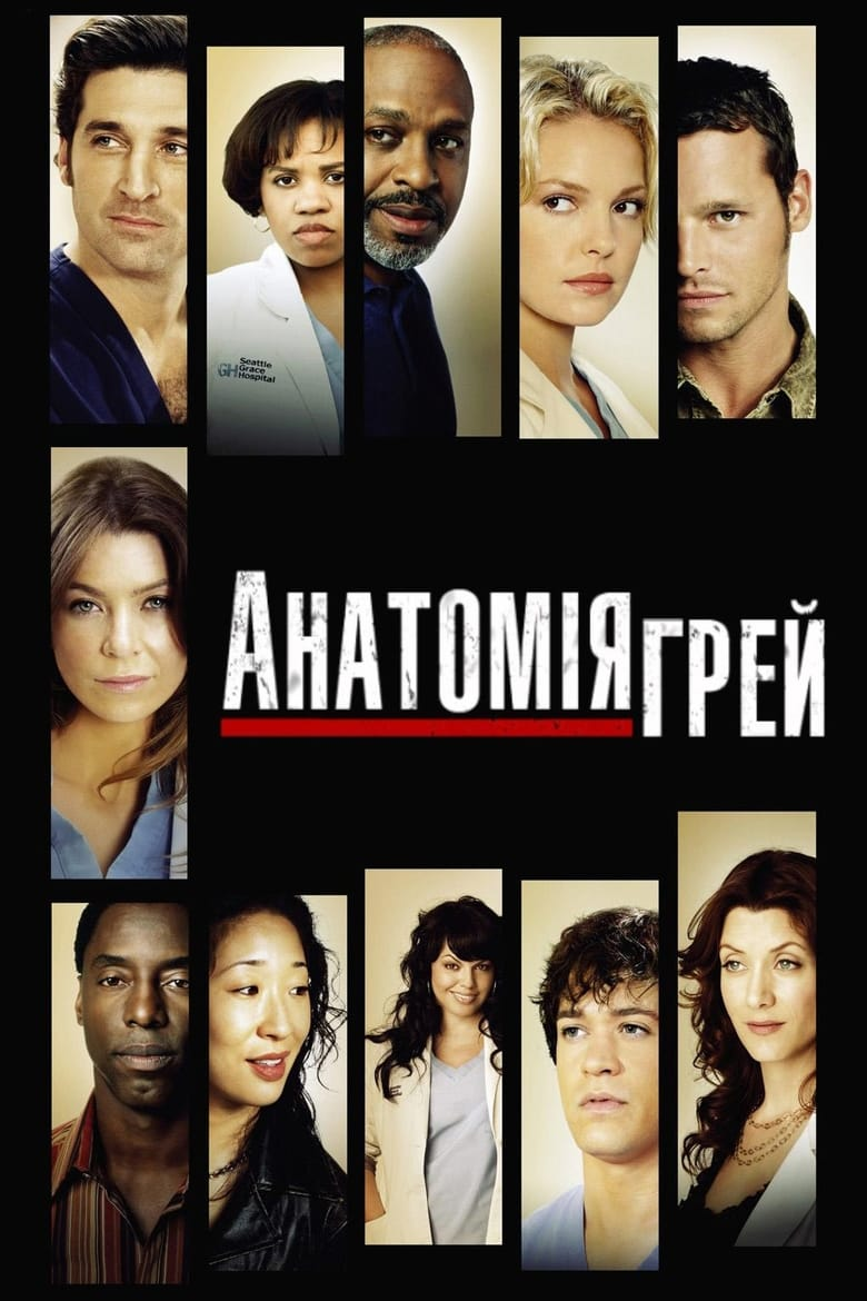 Poster for Serial Grey's Anatomy