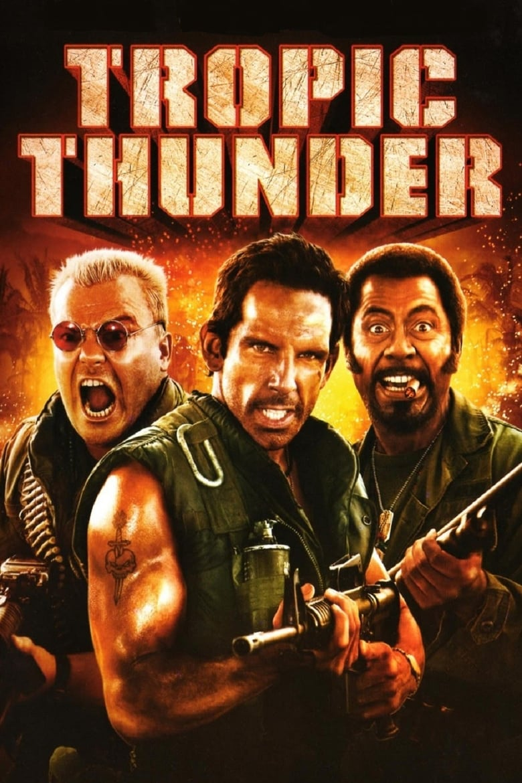 Εξώφυλλο του Tropic Thunder