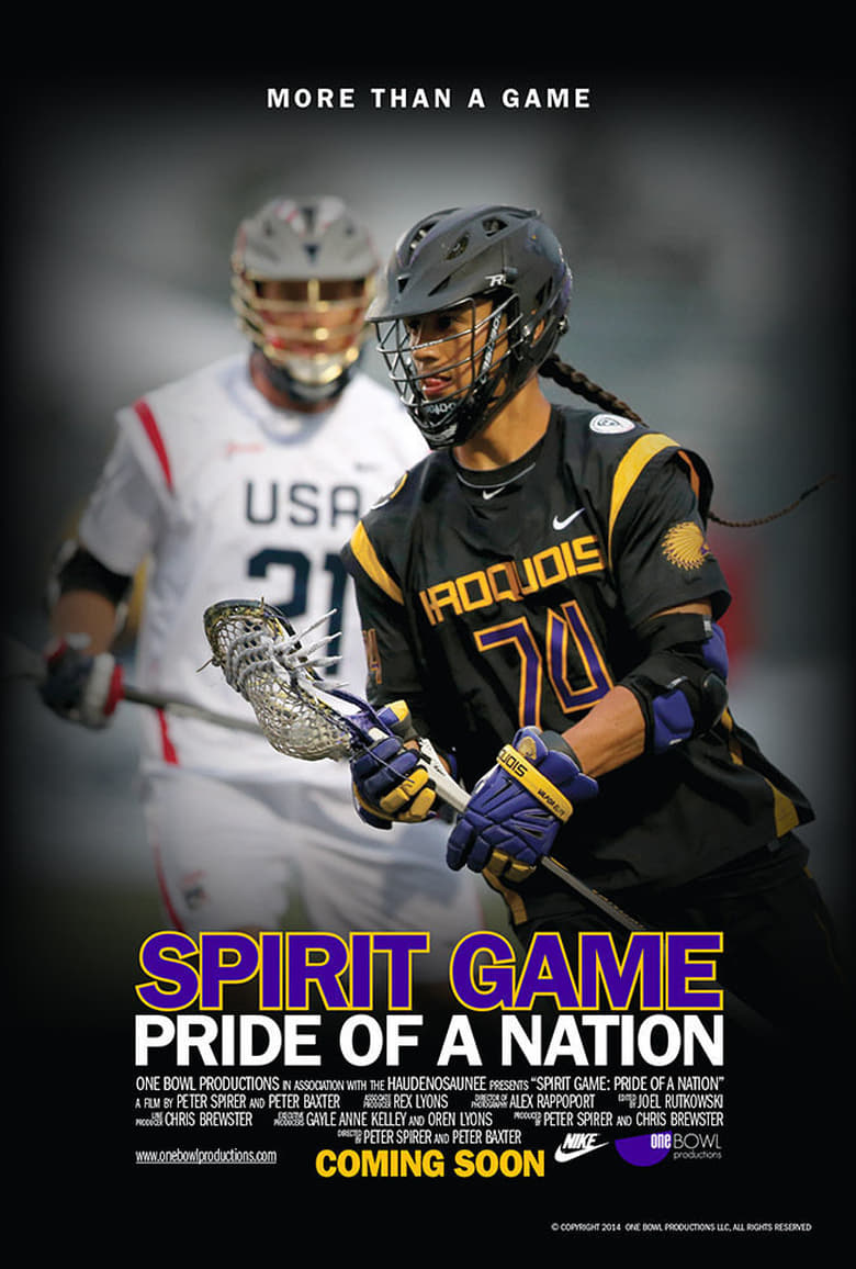 Spirit Game: Pride of a Nation - poster