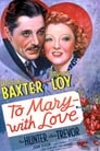 Poster for To Mary - with Love