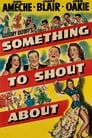 Poster for Something to Shout About