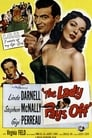 Poster for The Lady Pays Off