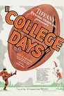 Poster for College Days