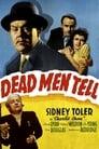 Poster for Charlie Chan in Dead Men Tell