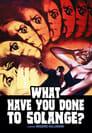 Poster for Cosa avete fatto a Solange?