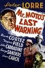 Poster for Mr. Moto's Last Warning