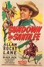 Poster for Sundown in Santa Fe