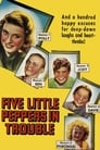 Poster for Five Little Peppers in Trouble