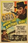 Poster for When the Daltons Rode