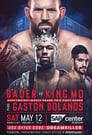 Poster for Bellator 199: Bader vs. King Mo