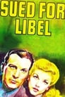 Sued for Libel (1939) Movie Reviews