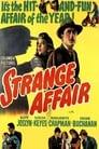 Poster for Strange Affair