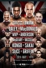 Poster for Bellator 179: MacDonald vs. Daley