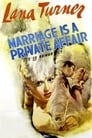Poster for Marriage Is a Private Affair