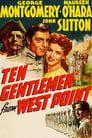 Poster for Ten Gentlemen From West Point