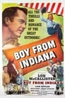 Poster for The Boy From Indiana