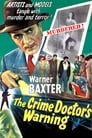 Poster for Crime Doctor's Warning