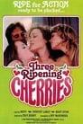 Three Ripening Cherries