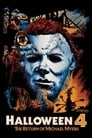 Poster for Halloween 4: The Return of Michael Myers