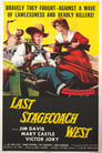 Poster for Last Stagecoach West