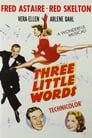 Poster for Three Little Words