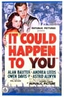 Poster for It Could Happen to You