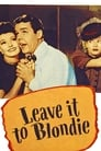 Poster for Leave It to Blondie