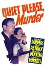 Poster for Quiet Please Murder