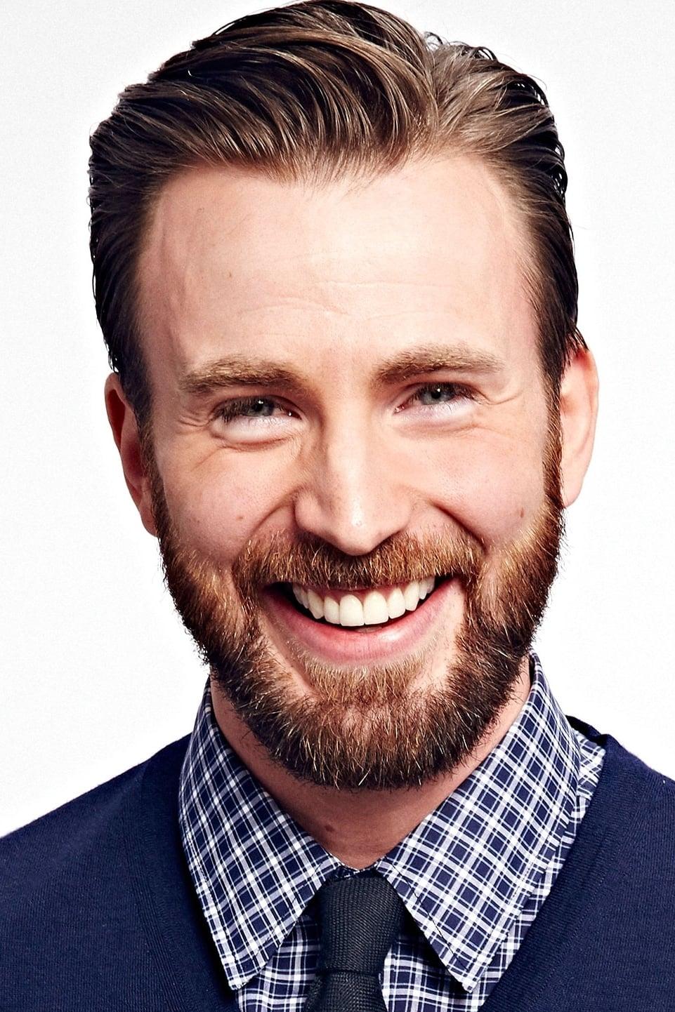 Chris Evans isSteve Rogers / Captain America